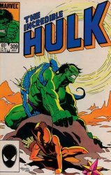 Marvel Comics's The Incredible Hulk Issue # 309