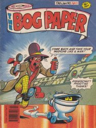 Marvel UK's The Bog Paper Issue # 11