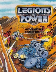Tonka's Legions of Power: Adventure Comic Book Issue # 4