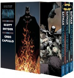 DC Comics's Batman by Scott Snyder and Greg Capullo Soft Cover Box Set 1