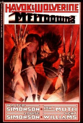 MELTDOWN # 4 COMIC HAVOK /& WOLVERINE 1989-7.5