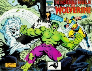 Marvel Comics's The Incredible Hulk and Wolverine Issue # 1