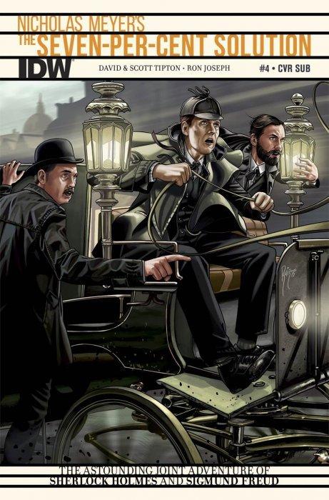 The Seven-Per-Cent Solution #4 SUB Cover IDW NM Comics Book Sherlock Holmes