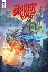 IDW Publishing's The Spider King Issue # 4