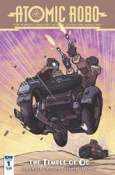 IDW Publishing's Atomic Robo: The Temple Of Od Issue # 1