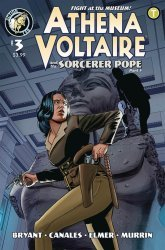 Action Lab Entertainment's Athena Voltaire and the Sorcerer Pope Issue # 3