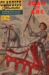 Gilberton Publications's Classics Illustrated #78: Joan of Arc Issue # 11