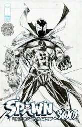 Image Comics's Spawn Issue # 300alamo