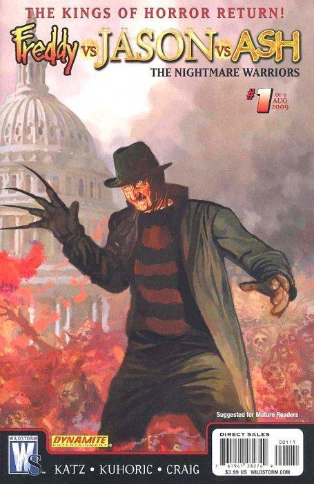 Freddy Vs Jason Ash The Nightmare Warriors Issue 1c WildStorm