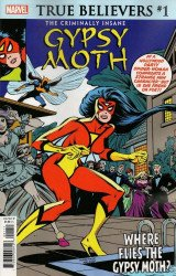 Marvel Comics's True Believers: The Criminally Insane - Gypsy Moth Issue # 1