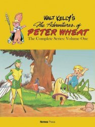 Hermes Press's Walt Kelly's The Adventures Of Peter Wheat TPB # 1