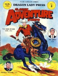 Dragon Lady Press's Classic Adventure Strips Issue # 2