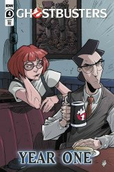 IDW Publishing's Ghostbusters: Year One Issue # 4ri