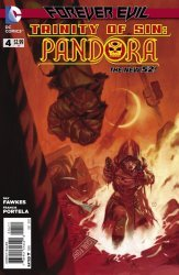 DC Comics's Trinity of Sin: Pandora Issue # 4