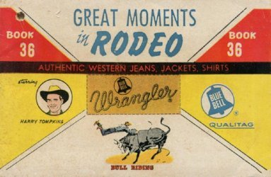 American Comics Group's Wrangler: Great Moments in Rodeo Issue # 36