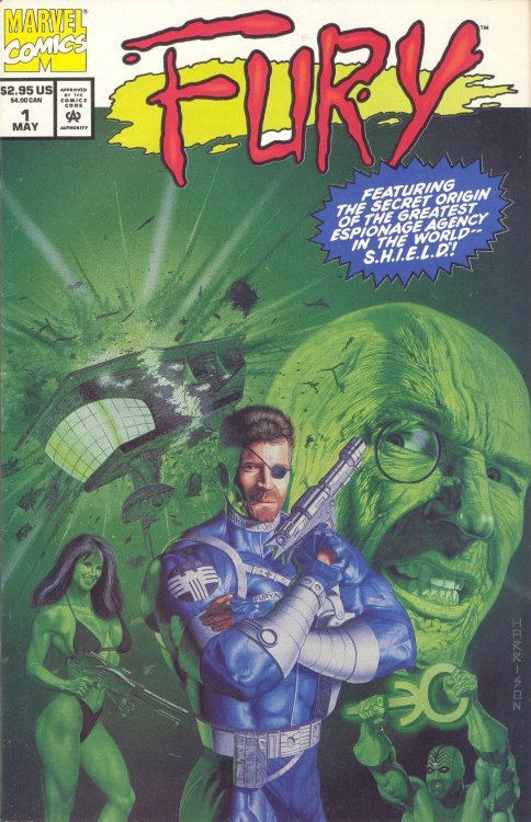 Fury 1 (Marvel Comics) - ComicBookRealm com