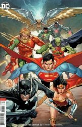 DC Comics's Justice League Issue # 22b