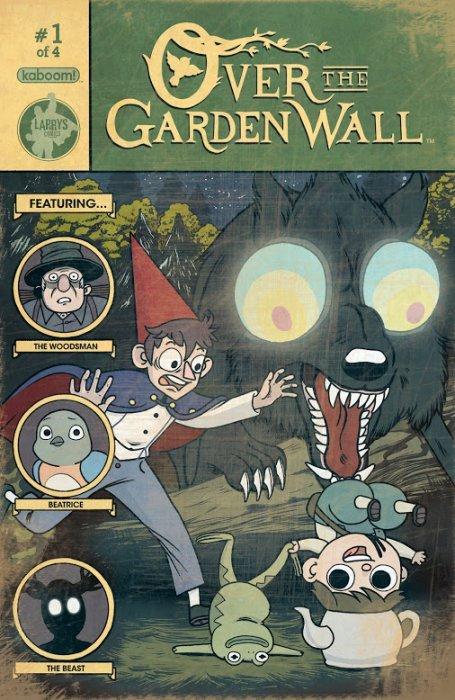 over the garden wall issue 1e kaboom - Over The Garden Wall Comic