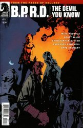 Dark Horse Comics's B.P.R.D.: The Devil You Know Issue # 11