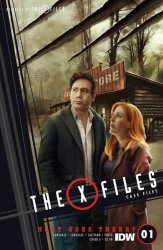 IDW Publishing's X-Files: Case Files - Hoot Goes There Issue # 1