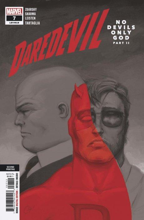Daredevil Comic Issue #8 Limited Variant Modern Age  2019 Chip Zdarsky NM
