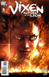 DC Comics's Vixen: Return of the Lion Issue # 5