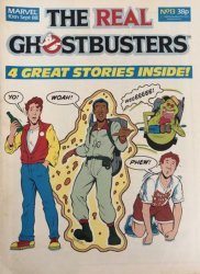 Marvel UK's The Real Ghostbusters Issue # 13