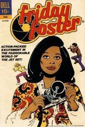 Dell Publishing Co.'s Friday Foster Issue # 1