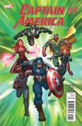 Marvel Comics's Captain America: Road to War Issue # 1