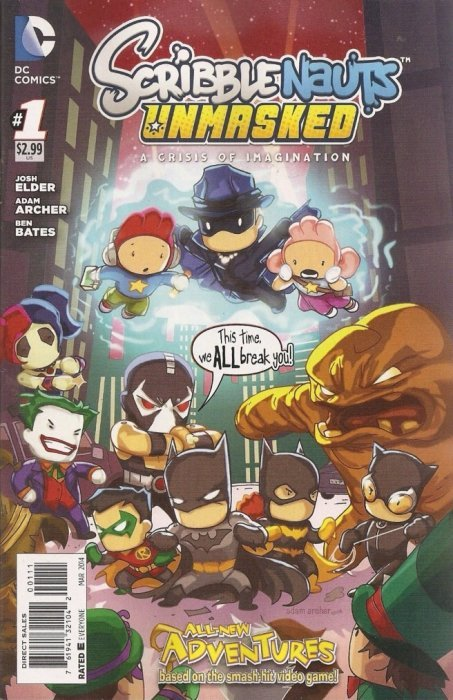 Scribblenauts Unmasked A Crisis Of Imagination 1 Dc