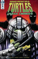 IDW Publishing's Teenage Mutant Ninja Turtles: Urban Legends Issue # 14
