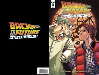 IDW Publishing's Back to the Future: Citizen Brown Issue # 4
