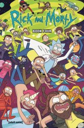 Oni Press's Rick and Morty Hard Cover # 4