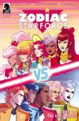 Dark Horse Comics's Zodiac Starforce: Cries of the Fire Prince Issue # 3