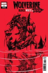 Marvel Comics's Wolverine: Black, White & Blood Issue # 1d