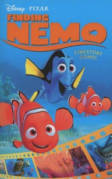 Disney pixar 39 s finding nemo cinestory tpb 1 joe books for Tp fish market