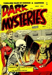 Master Publications's Dark Mysteries Issue # 7
