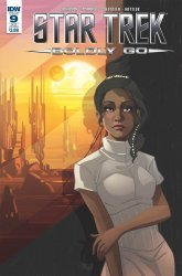 IDW Publishing's Star Trek: Boldly Go Issue # 9sub