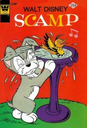 Gold Key's Scamp Issue # 21whitman