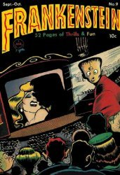 Prize Publications's Frankenstein  Issue # 9