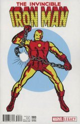 Marvel Comics's The Invincible Iron Man Issue # 593c