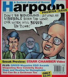 Ross Periodicals's Harpoon: A Serious Journal of Humor Issue # 1
