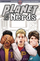 Ahoy Comics's Planet of the Nerds TPB # 1
