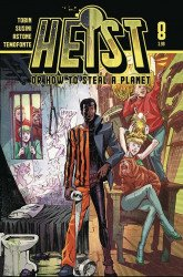 Vault Comics's Heist or How to Steal a Planet Issue # 8