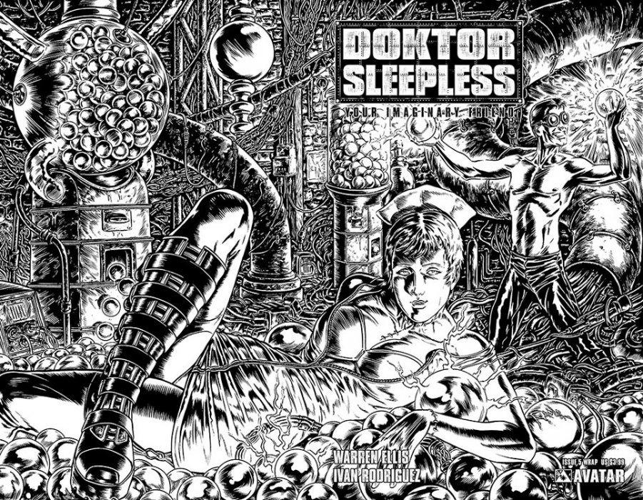 Avatar Presss Doktor Sleepless Issue 5b