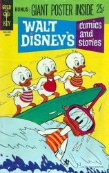 Gold Key's Walt Disney's Comics and Stories Issue # 359
