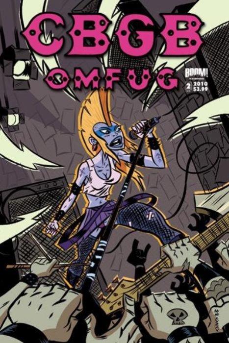 Limited Series Boom 2010 Studios 5 Comics Cbgb Omfug #1