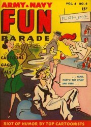 Harvey Publications's Army and Navy Fun Parade Issue V4-6