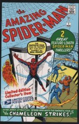 Marvel Comics's The Amazing Spider-Man Issue # 1usps