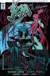 IDW Publishing's Jem and the Holograms Issue # 15